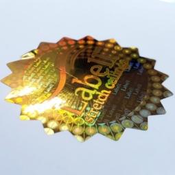چاپ هولوگرام طلایی